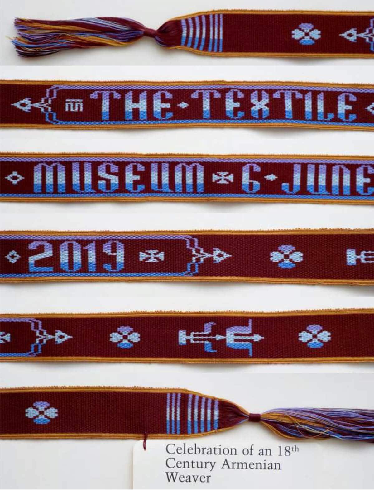 Figure 7 is the Textile Museum's logo celebration of an 18th Century Armenian Weaver